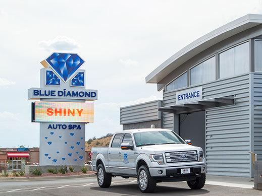 Blue Diamond Message Board