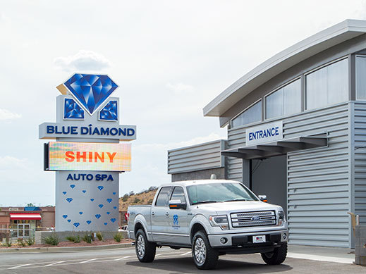 Blue-Diamond-Message-Board